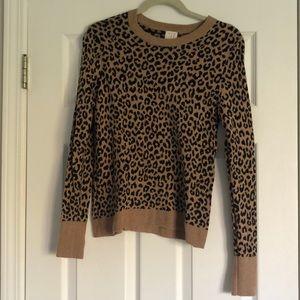Target Leopard Crewneck Sweater